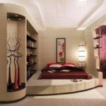 спальня с балконом фото декор
