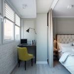 спальня с балконом идеи оформление