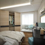 спальня с балконом интерьер фото