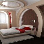 спальня с балконом оформление идеи