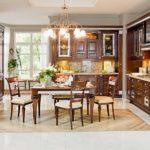 элитный дизайн кухни мебель