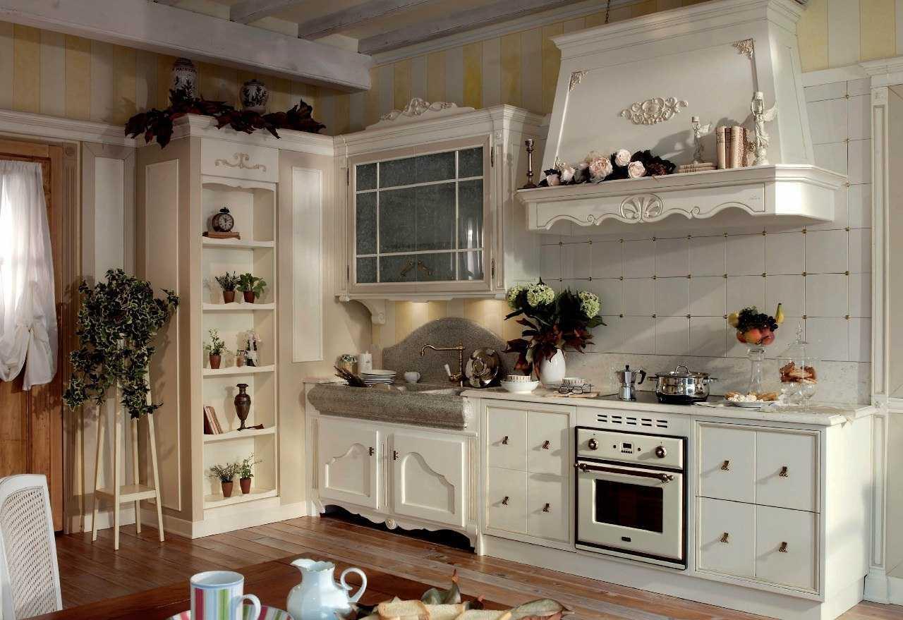 элитная кухня в стиле прованс