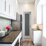 узкая кухня идеи дизайн