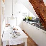 узкая кухня идеи дизайна