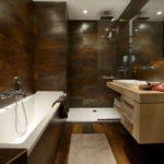 ванная с душевой кабиной дизайн