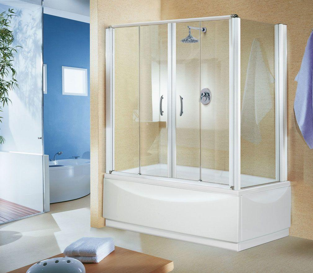 ванная с душевой кабиной объединенные