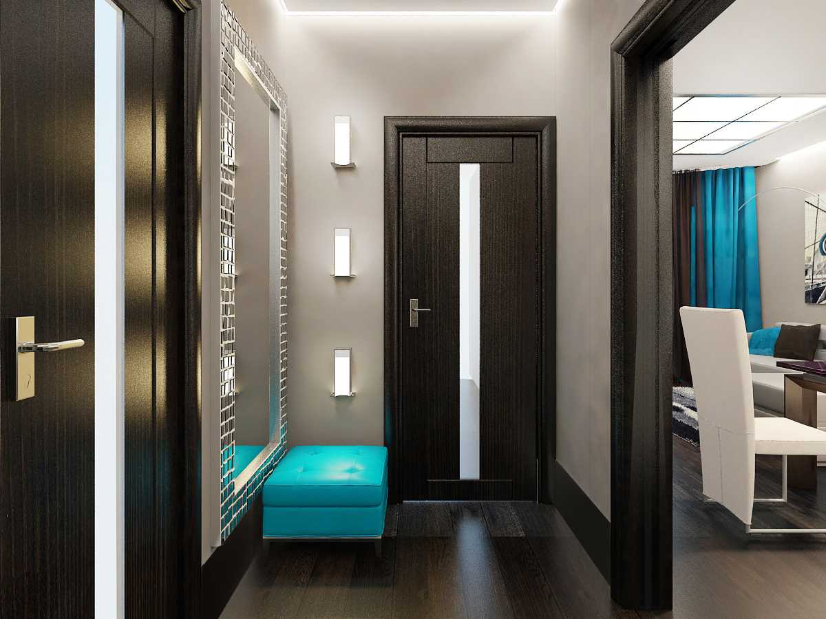 стиль для узкого коридора
