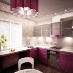 элитный дизайн кухни красивый гарнитур