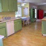 зеленая кухня дизайн фото