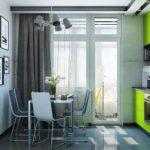 зеленая кухня дизайн идеи