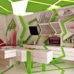 зеленая кухня фото дизайна