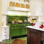 зеленая кухня фото вариантов