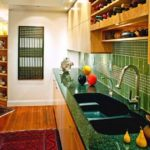 зеленая кухня фото варианты
