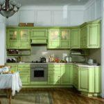 зеленая кухня идеи дизайн