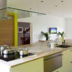 зеленая кухня идеи оформление
