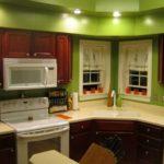 зеленая кухня идеи оформления