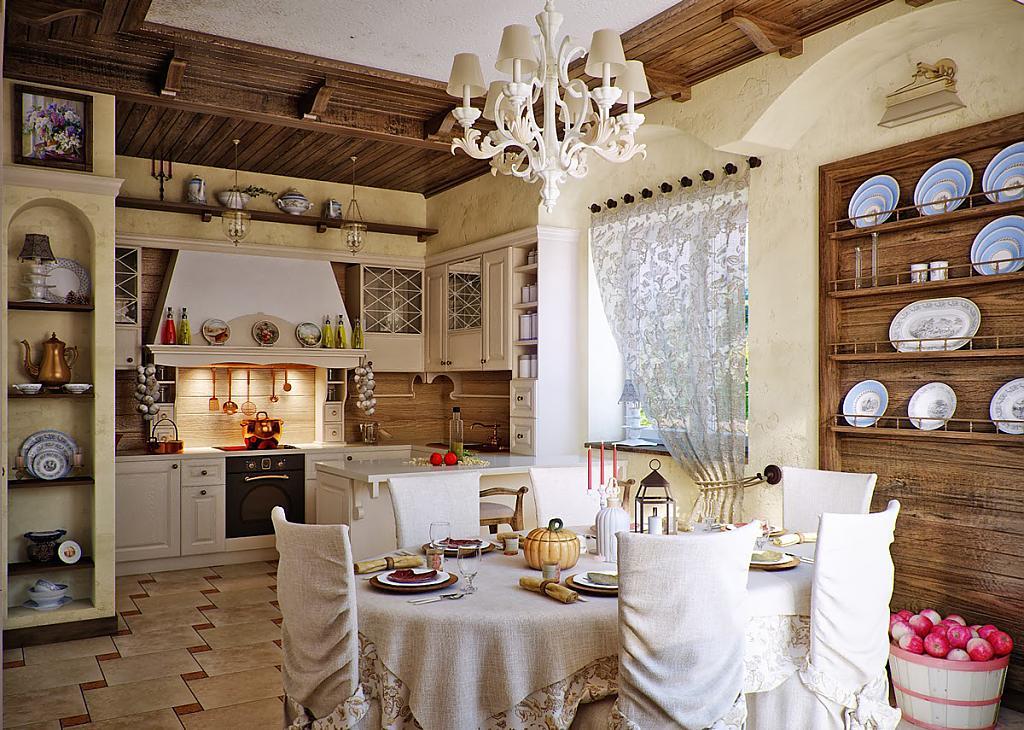 декор окна на кухне фото варианты