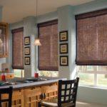 декор окна на кухне идеи фото