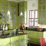 декор окна на кухне оформление идеи