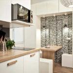 дизайн кухни гостиной 15 кв метров идеи интерьера