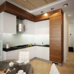 дизайн кухни гостиной 15 кв метров интерьер фото