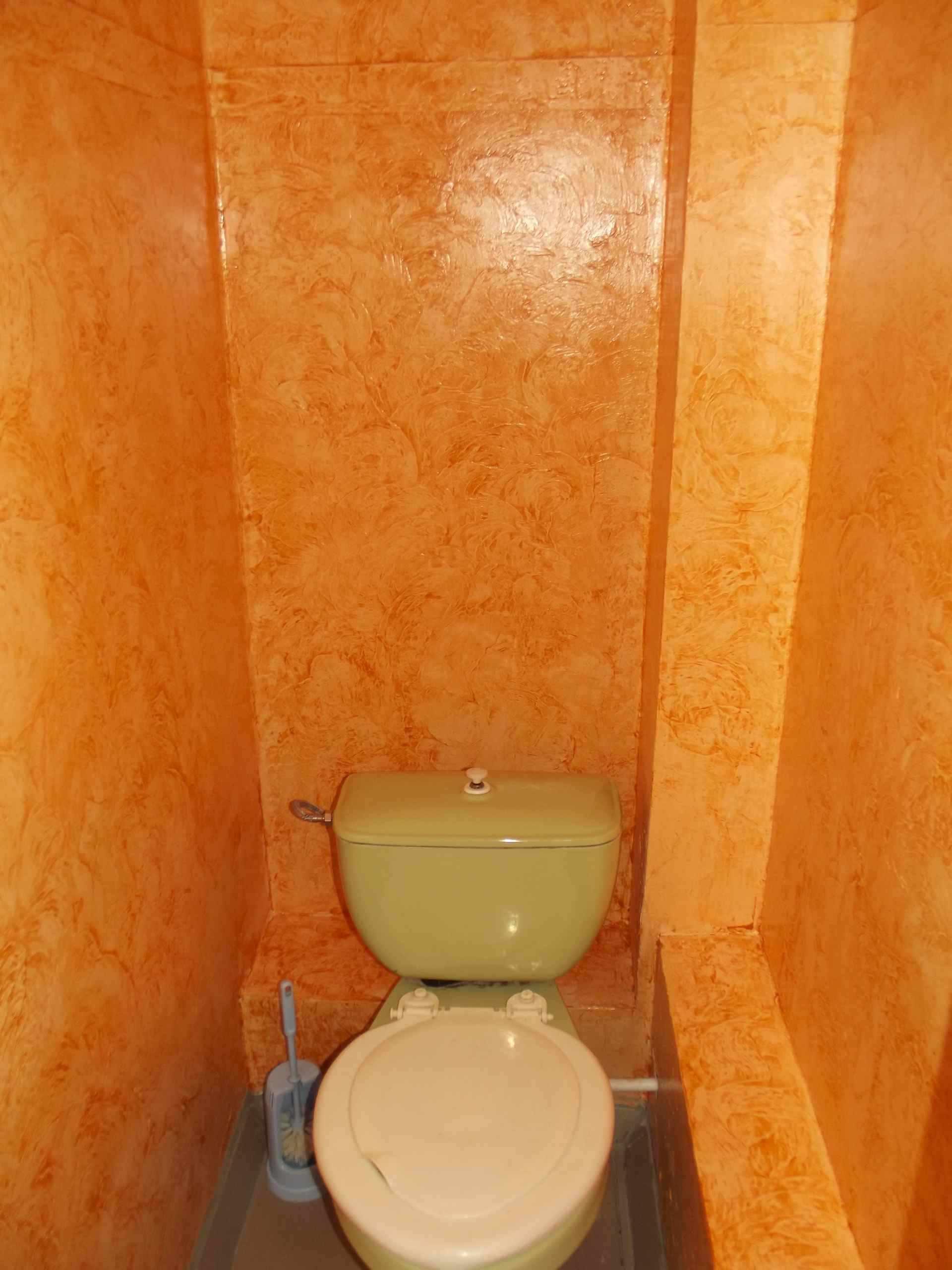 вариант использования необычной декоративной штукатурки в дизайне ванной