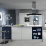 идея необычного дизайна кухни гостиной 16 кв.м фото