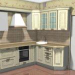 пример светлого интерьера кухни с газовым котлом картинка