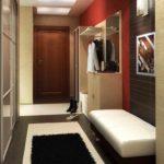 вариант красивого декора коридора фото