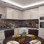 пример красивого стиля кухни фото