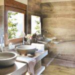 пример яркого стиля ванной комнаты картинка