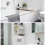 идея красивого декора ванной комнаты картинка