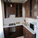 идея красивого стиля кухни с газовым котлом фото
