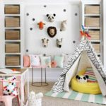 пример красивого дизайна детской комнаты картинка