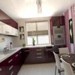 вариант необычного стиля кухни гостиной 16 кв.м картинка