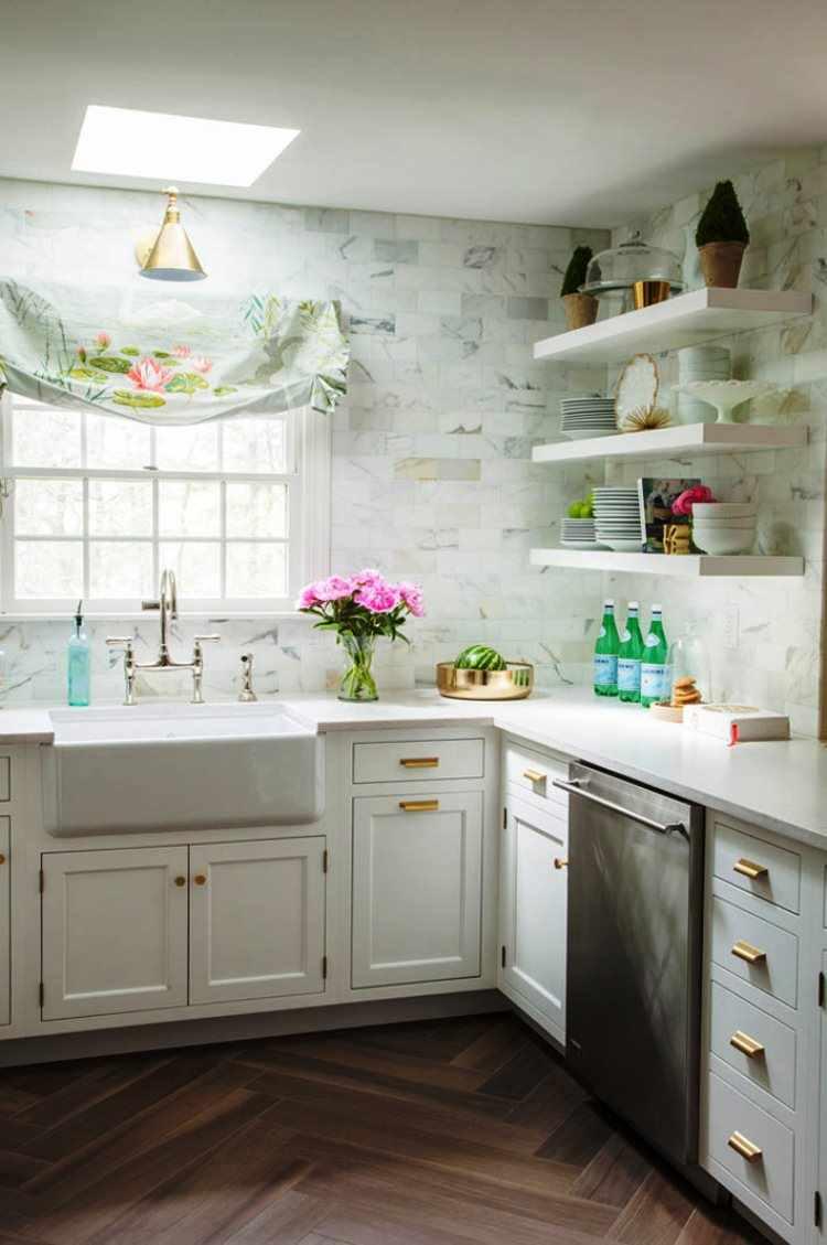 пример красивого стиля кухни