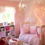 идея красивого интерьера спальни для девочки фото