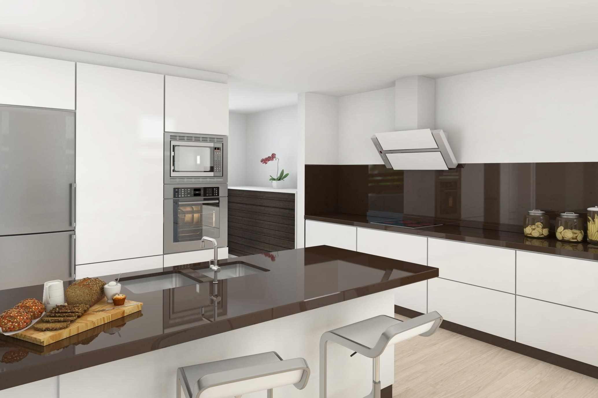 пример светлого стиля кухни