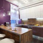 идея светлого декора угловой кухни картинка