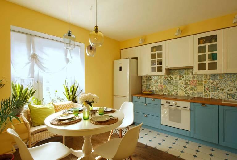 оформление кухни гостиной