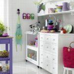 кухня с декором дизайн