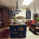 кухня с декором идеи интерьер