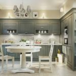 кухня с декором интерьер фото