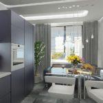 оформление окна на кухне фото дизайна