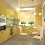 оформление окна на кухне фото интерьера