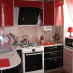 идея красивого стиля кухни с газовым котлом картинка