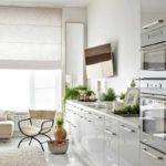 идея светлого стиля кухни фото