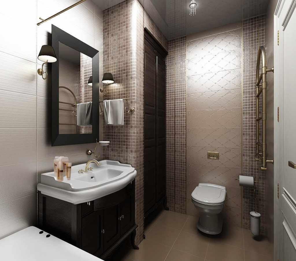 идея светлого декора ванной комнаты