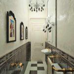 идея применения необычной декоративной штукатурки в декоре ванной фото