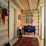 вариант светлого дизайна прихожей в частном доме фото